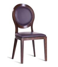 Chaise Rembourrée de Salon Salle à Manger Bureau Bois Classique Neuf