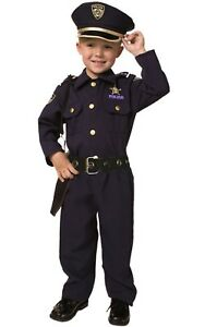 Award Winning Kids Deluxe Police Pretend play Costume Set by Dress up America
