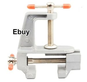 Heavy Duty Work Bench Vice Engineer Jaw Swivel Base Workshop Vise Clip Clamp