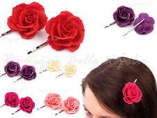 Mode-Haarspangen für Damen mit Rosen