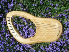 Waldorf Leier pentatonisch Eschenholz 7 Stahlsaiten + Zubehör Klassensatz Harfe