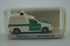 Rietze Modellauto 1:87 H0 VW Caddy Polizei