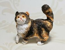 Miniature Dollhouse Persian Calico Cat 1:12 Scale New