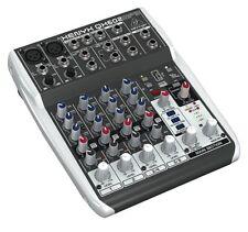 Behringer XENYX Qx602mp3 Studio / Live Mixer USB Analog Mixing Desk Effects