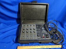 Vintage Kay PA 400 mini portable Band PA Sound System  Microphone 60s-70s