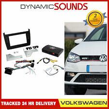 CTKVW14 Voiture Double Din Carénage Volant de Direction Interface Kit pour VW