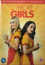 2 Broke Girls - Season 1-3 (9xDVD) New Sealed Free UKP&P