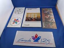 THE CONSTITUTION AND YOU INFORMATION BOOK FLYER CANADA 100 YEAR 125 STICKER