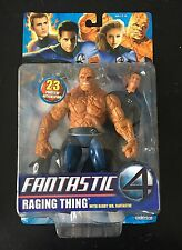 Fantastic Four Raging Thing With Bendy Mr. Fantastic Toy Biz Marvel Legends 2005