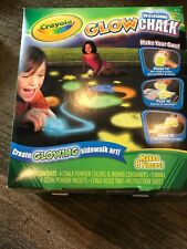 Crayola Washable Glow Chalk Kit