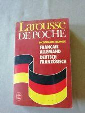 """Dictionnaire Français/Allemand """"Larousse de poche"""""""