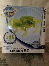 Discovery Kids Build Your Own Robot Lizard Ez w/ Remote Control Kit - New In Box