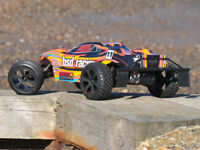 BSD Racing Prime Storm V3 RC Truggy 1/10 Scale Radio Remote Control Car - Orange