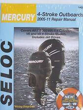 MERCURY OUTBOARD REPAIR MANUAL 2.5 to 350 HP 2005-2011 SELOC 1422 4-STROKE