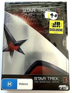 Star Trek the Original Series ~ Season 3 ~ Brand New and Sealed - 7 DVD Set