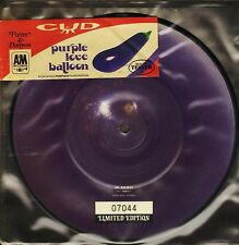 """CUD purple love balloon/spanish love song AM 0024 picture disc uk 7"""" PS EX-/EX"""