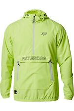 2020 Fox Mx Racing Mens Adult Savage Anorak Jacket - Lime Mx Mtb Size Medium
