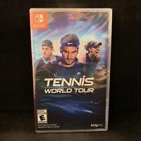 Tennis World Tour (Nintendo Switch) BRAND NEW / Region Free