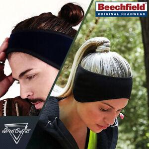 Fleece Headband Soft Winter Ear Muffs Outdoor Running Anti-pilling Suprafleece