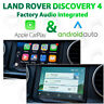 Land Rover Discovery 4 2012- 2015 - Apple CarPlay & Android Auto Integration