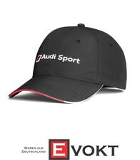 Original Audi Sport Baseball Cap hat 3131802300 Black New