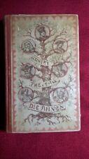 """Altes Buch """"Die Ahnen"""", Roman-Reihe, Gustav Freytag, ca. 1920, 1309 Seiten"""