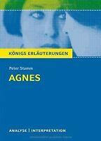 Agnes. Textanalyse und Interpretation zu Peter Stamm: Al...   Buch   Zustand gut