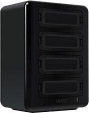 Lexar four-bay USB 3.0 reader and storage drive hub HR1 Professional Work
