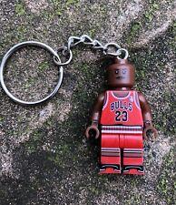 Michael Jordan Air Keyring Keychain Minifigure UK SELLER
