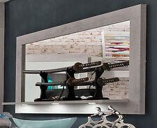 Wandspiegel Spiegel Pure mit Ablage Industry Beton Design 160 cm LED Beleuchtung