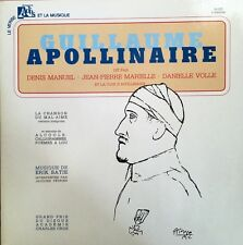 Guillaume Apollinaire (Denis Manuel/J-P Marielle/Danielle Volle) - Album 2 Vinyl