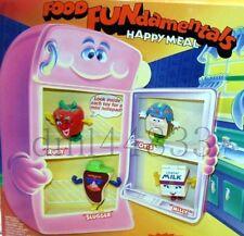 1993 McDonalds Food Fundamentals MIP Complete Set & U3, Lot of 5, Boys/Girls, 3+