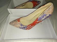 Qing Tian Ladies multi-coloured Heels UK5