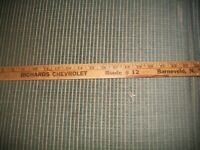 Vintage RICHARDS CHEVROLET, BARNEVELD,NY ADVERTISING YARD STICK Wooden~THICK