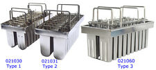 20pcs Stainless Steel Molds(Type 1) for Ice Lolly Popsicle Ice Cream Pops Bars