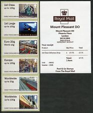 NEW! MT PLEASANT DO (EO) DELIVERY OFFICE TIII MAIL BY RAIL COLL SET POST & GO
