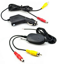 Wireless Rear View/Reversing Camera Video Transmitter & Receiver