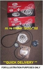 FORD FOCUS + C-MAX 2.0 TDCi GATES ENGINE TIMING CAM BELT KIT AND WATER PUMP SET