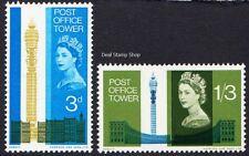 1965 Torre de apertura de oficina de correos SG679/80 Juego Completo ordinario Menta desmontado