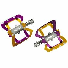 MDH BAT Style Lightweight Alloy CNC Body Pedals , PVA03 , Purple x Gold