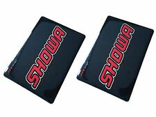 4MX Fork Decals SHOWA Carbon Stickers fits Bombardier DS650 DS 4