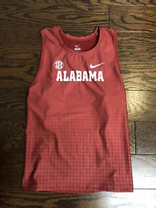 NEW Nike SEC Alabama Track & Field TEAM ISSUED Singlet Racerback Tank Size Large
