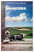 HOOSIERS (1986) ORIGINAL MOVIE POSTER  - ROLLED