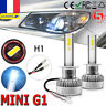 2pcs G1 COB LED Phare de voiture Kit H1 110W 20000LM Lumière DRL Ampoules 6000K