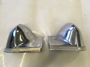 1974 Chevrolet Impala Front Fender Extensions Chrome Donk Chevy 74