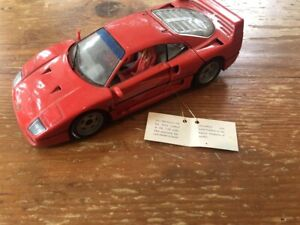 Franklin Mint 1989 Ferrari F40 1:24 Die-cast Model