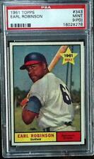 Earl Robinson 1961 Topps #343 PSA 9 PD Baltimore Orioles