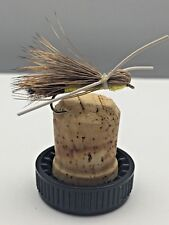 Fly Fishing Madam X Yellow Body Size 10 Pack of 6 UK Packed #194
