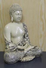 Deko Asien BUDDHA Figur Statue Skulptur FENG SHUI sitzend betend H 30 cm NEU