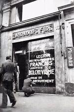 WW2 - LVF - Ouverture d'un bureau de recrutement à Paris en 1941